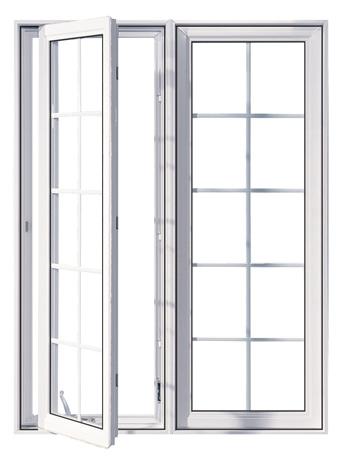 Fenêtre PVC Manivelle